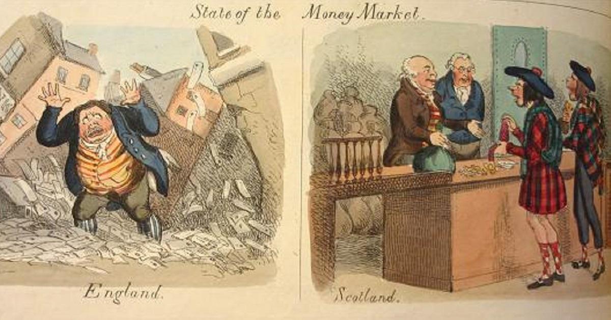 banking regulation, deregulation, Scottish Free Banking, misunderstanding financial crises, Dodd-Frank Act