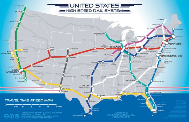 Why HighSpeed Rail Is a Ridiculous Fantasy Cato Liberty