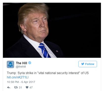 0-To-Strike in 6 Days: Trump's Snap Decision on Syria Should Worry US
