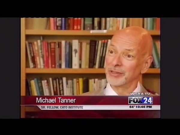 Michael D  Tanner discusses the role of government in