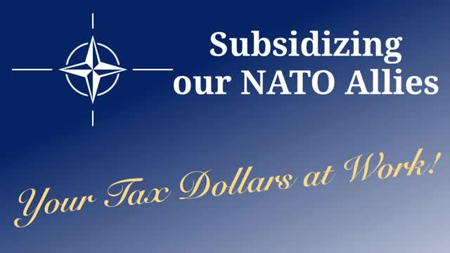 How Much Is Tax >> Subsidizing our NATO Allies: Your Tax Dollars at Work | Cato Institute