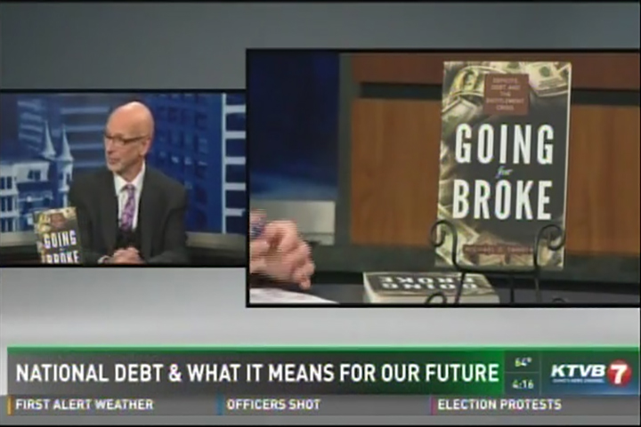 Michael D  Tanner discusses his book, 'Going for Broke' on