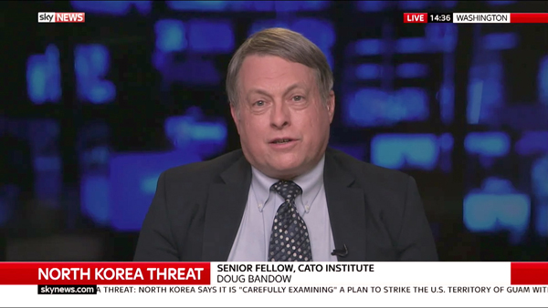 Doug Bandow discusses North Korea on Sky News Tonight with Dermot