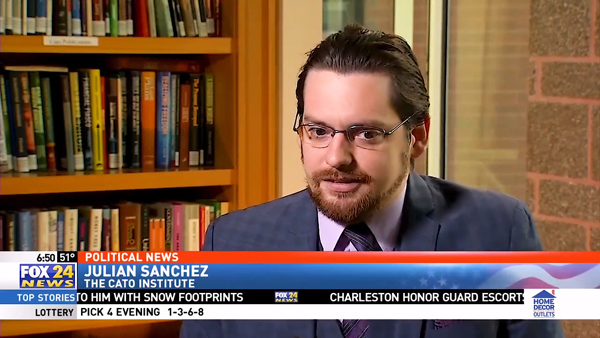 Julian Sanchez discusses FISA on Sinclair Broadcast Group