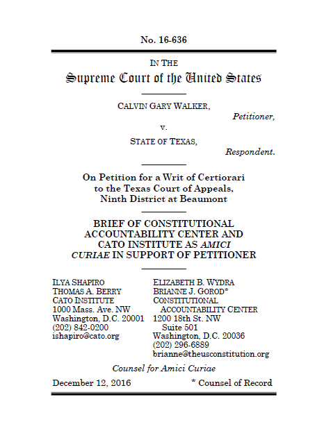 walker v quillen case brief Walker v united states, 71 us 4 the jurisdiction of this court to reexamine judgments of the circuit courts is limited to cases where the matter in dispute the united states had recovered judgment against walker in the circuit court for the eastern district of louisiana for.