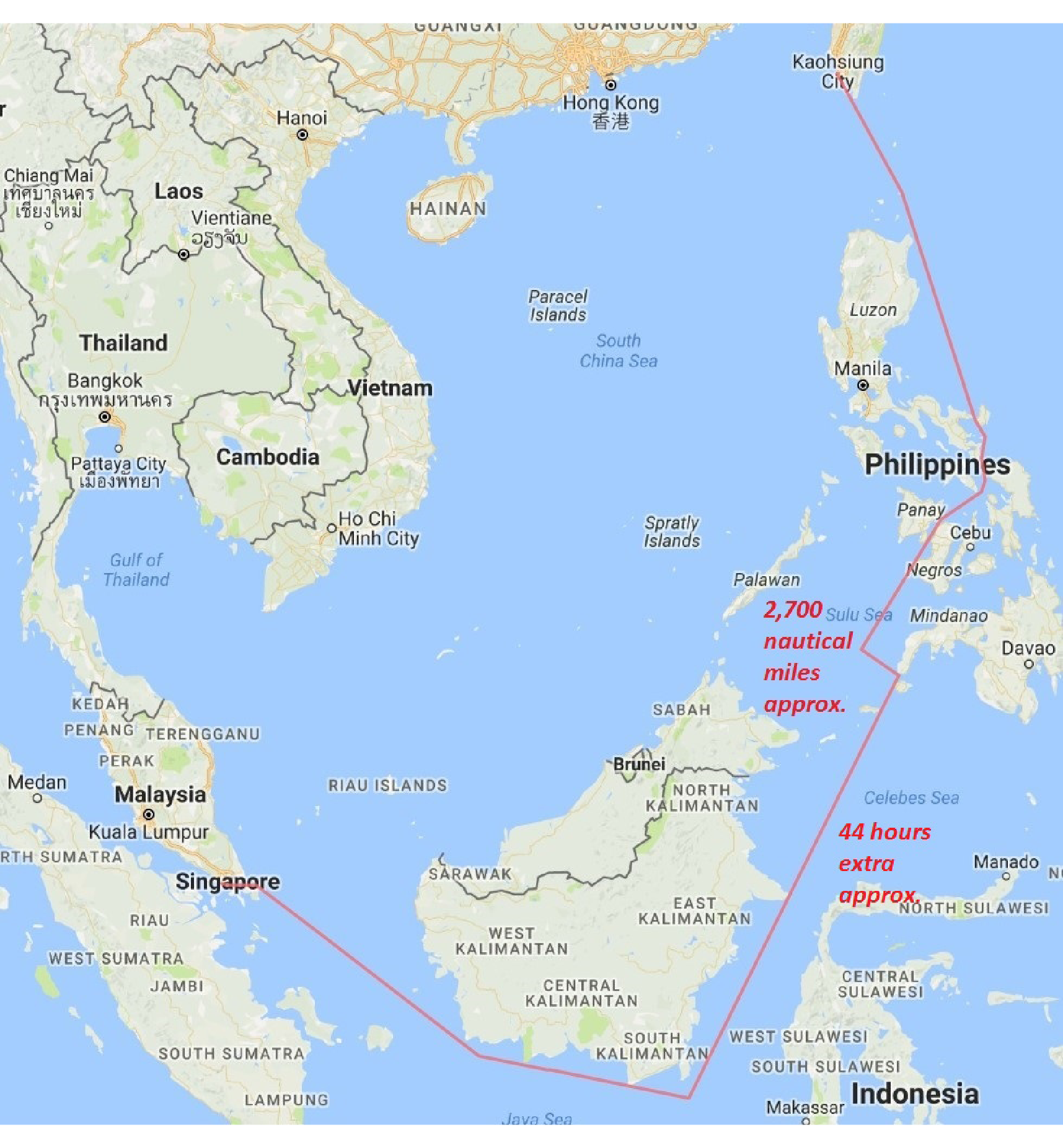 Map Of Asia Seas.A Balanced Threat Assessment Of China S South China Sea Policy