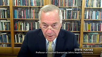 Steve H. Hanke discusses hyperinflation on Mises Weekend