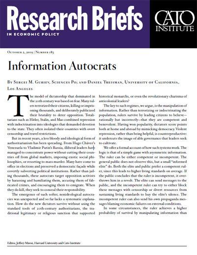 Information Autocrats