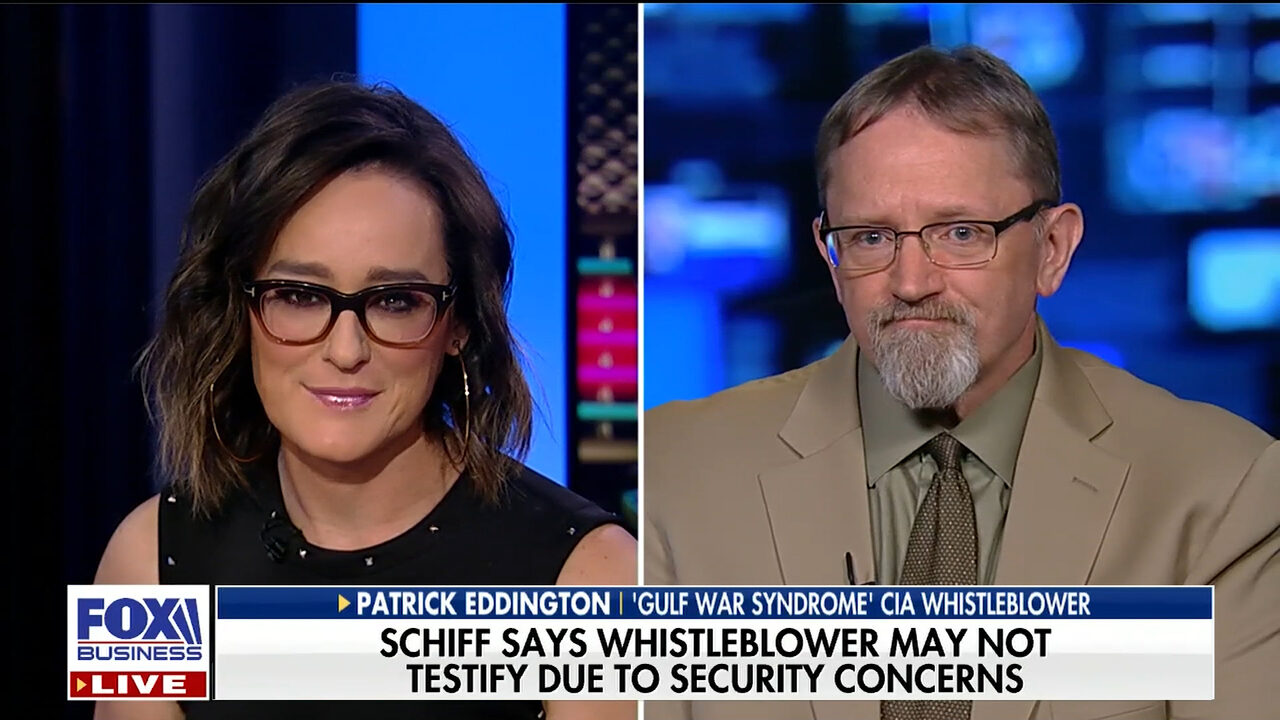 Patrick G. Eddington discusses the latest on the Trump whistleblower on FBN's Kennedy