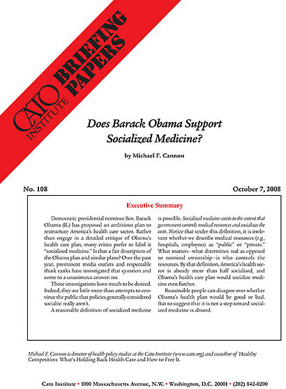 the downfalls of socialized medicine essay Socialized medicine is a system of providing free medical health care by government controlled financing strategies majorly taxation and insurance the whole health sector in some cases, are operated fully or partially by the government.