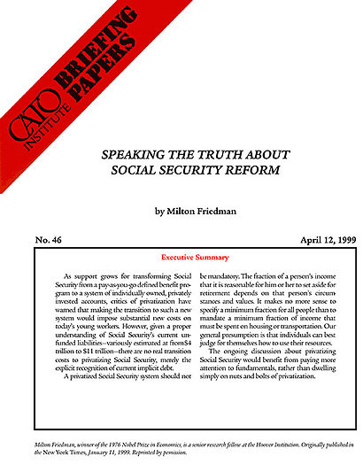 social security needs reform essay Thus, the shift from preindustrial to industrialized societies undermined traditional strategies for providing economic security and created a need for new forms of the second new deal (1935–1937) was the period of reform, in which the administration sought to introduce longer-lasting changes to the nation's political.