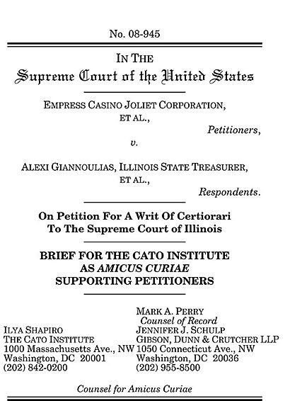 Casino v. court of appeals 1991