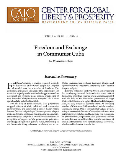 Research paper cuban government