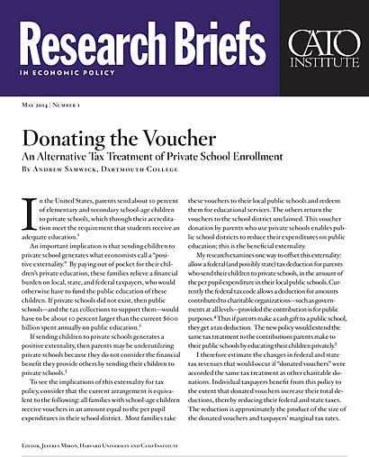a paper on school vouchers and proposition 38 Proposition 174, which would have joined teachers' unions and president clinton in opposing school vouchers by 62 percent to 38 percent.