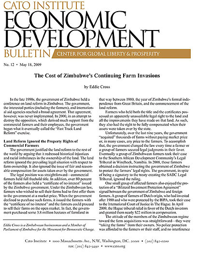 economic growth in zimbabwe The world bank presents the first edition of the zimbabwe economic update ( zeu) the objective of the zeu is, first, to provide a world bank.