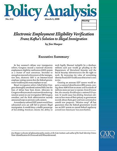 Electronic Employment Eligibility Verification Franz