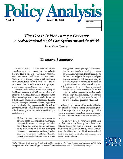Health policy essays