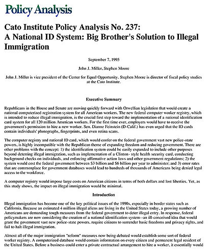 illegal immigration negative deviance essay