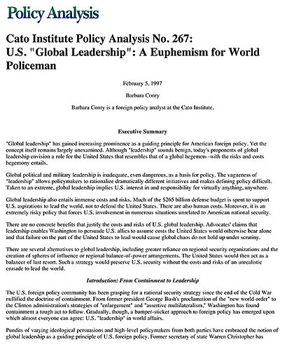 nature of foreign policy pdf