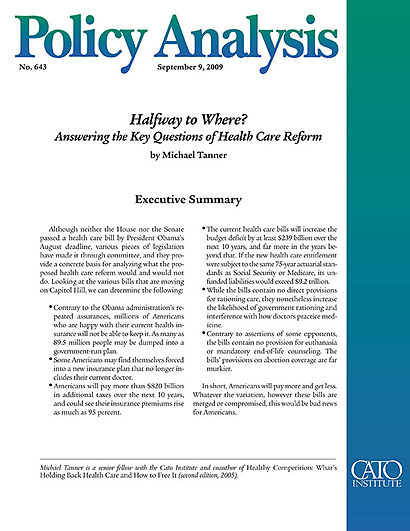 Health Policy Analysis and Evidence