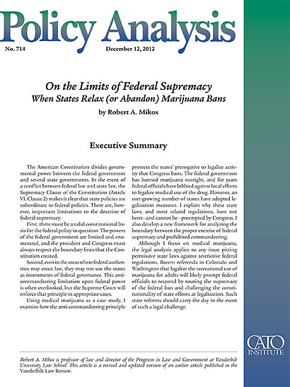 laws prohibiting marijuana use should be relaxed Including laws prohibiting manufacture, possession, or use of marijuana the prosecution of significant traffickers of illegal drugs, including marijuana, and the disruption of illegal drug manufacturing and trafficking networks continues to be a core.