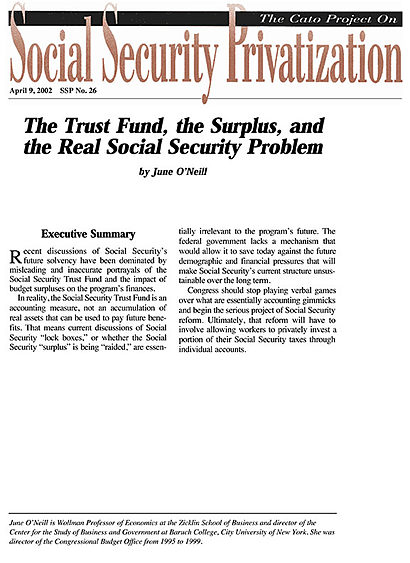 Read The Full Social Security Choice Paper