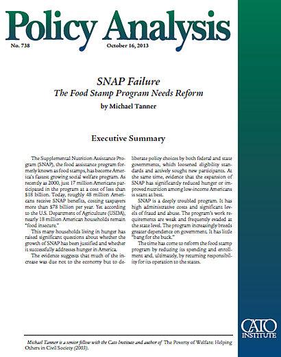 the failures of the welfare reform program