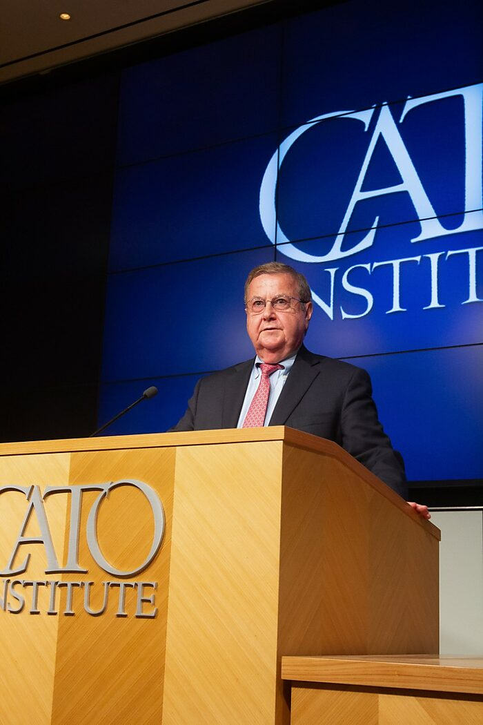 Don Smith Speaks at Cato