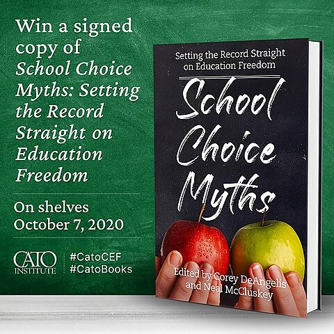 Free School Choice Myths Contest ad