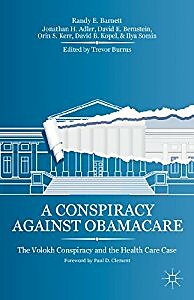 A Conspiracy Against Obamacare cover