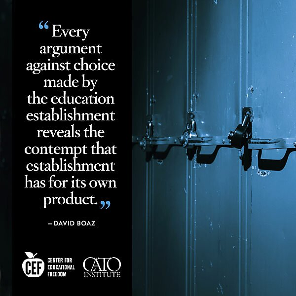 David Boaz on educational choice