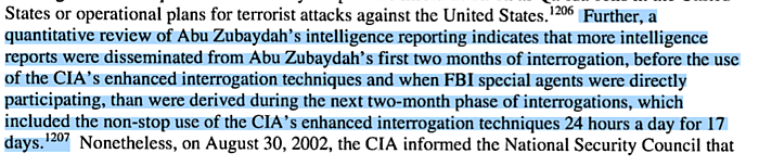SSCI Torture Report Summary Extract p. 208