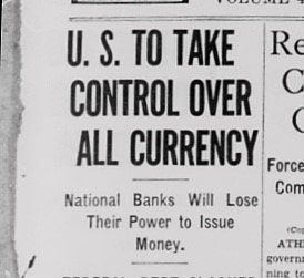 US Takeover Currency