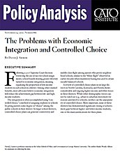 The Problems with Economic Integration