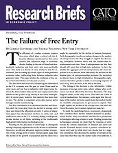 The Failure of Free Entry
