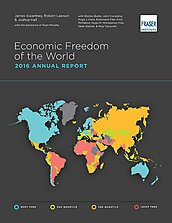 Economic Freedom of the World - 2016 - Cover