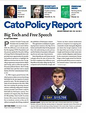 Cato Policy Report v43n1 - Full Image