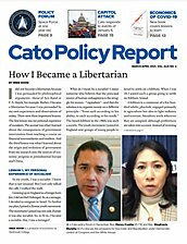 Cato Policy Report - v43n2 - Cover