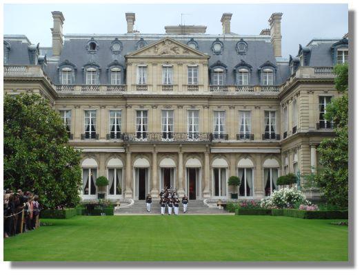 US Ambassador's residence, Paris