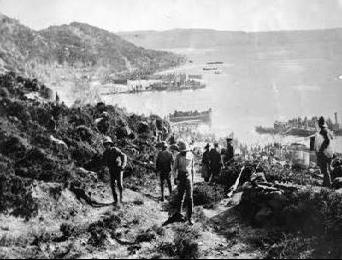 Anzac Cove. Wikimedia Commons