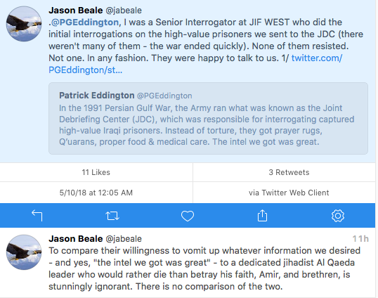 Jason Beale ex-interrogator critique of PGE