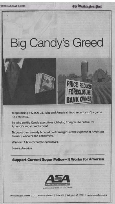 Big Sugar Ad
