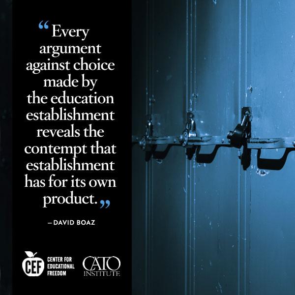 David Boaz on educational choice