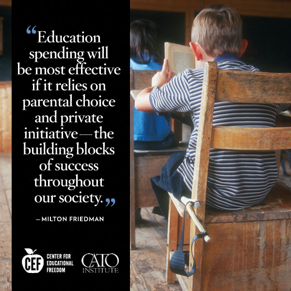 Milton Friedman on educational choice.