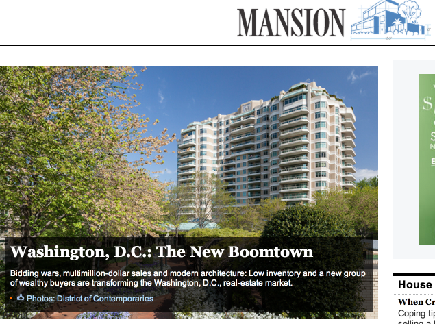 WSJ DC Boomtown