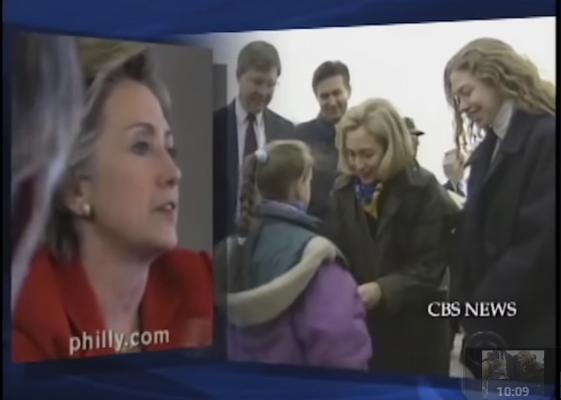 Hillary Clinton in Bosnia