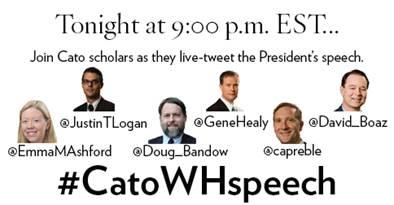 #CatoWHSpeech