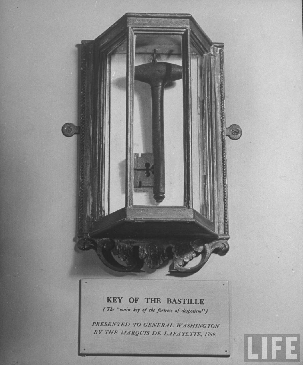 Key to the Bastille at Mount Vernon