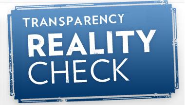 transparency reality check